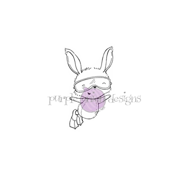 Purple Onion Designs IDA Cling Stamp pod1172