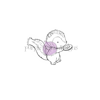 Purple Onion Designs COCO Cling Stamp pod1179