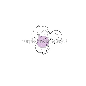 Purple Onion Designs AUSTIN Cling Stamp pod1180