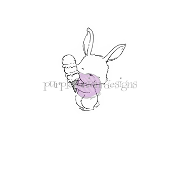 Purple Onion Designs MARIGOLD Cling Stamp pod1181