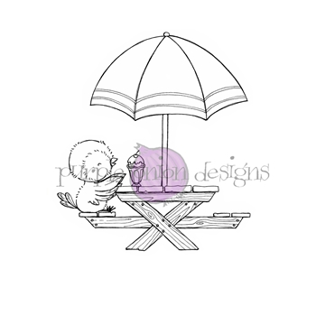 Purple Onion Designs JULIET Cling Stamp pod1182