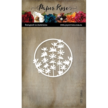 Paper Rose LITTLE FOLIAGE CIRCLE Craft Die 18855