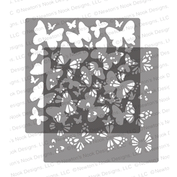 Newton's Nook Designs BUTTERFLIES Stencil Set NN2005T01