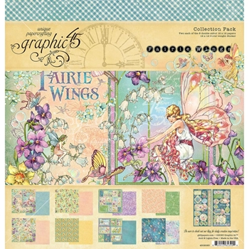 Graphic 45 FAIRIE WINGS 12 x 12 Paper Pad 4502083