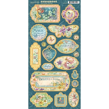 Graphic 45 FAIRIE WINGS Chipboard 4502085