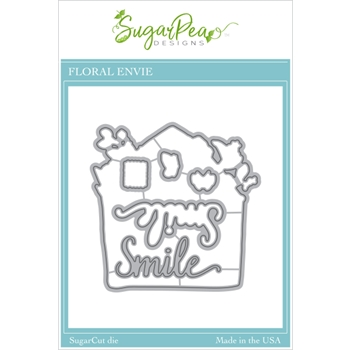 SugarPea Designs FLORAL ENVIE SugarCuts Dies spd00459