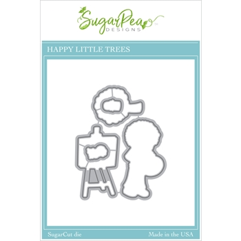 SugarPea Designs HAPPY LITTLE TREES SugarCuts Dies spd00455