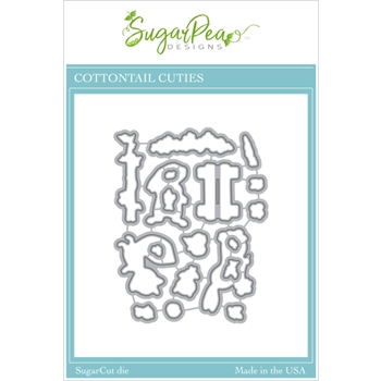 SugarPea Designs COTTONTAIL CUTIES SugarCuts Dies spd00452