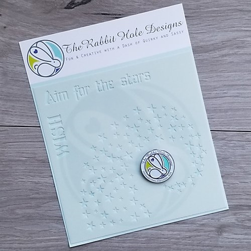 The Rabbit Hole Designs AIM FOR THE STARS Stencil TRH-011 Preview Image