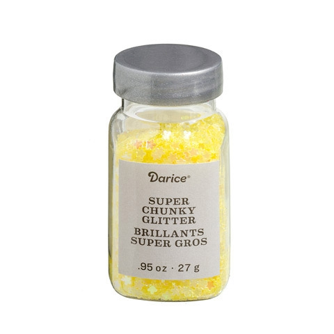 Darice YELLOW DAISY Super Chunky Glitter 30029646 Preview Image