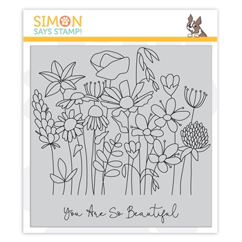Simon Says Cling Stamp SO BEAUTIFUL sss102137 Crafty Hugs