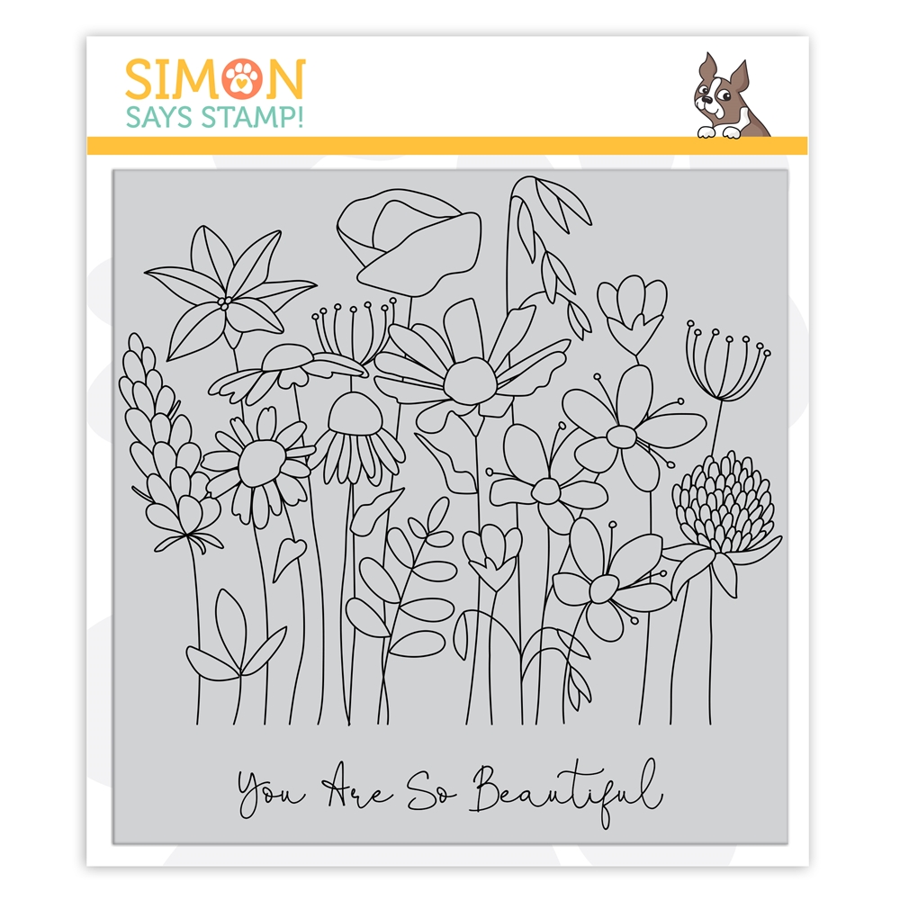 Simon Says Cling Stamp SO BEAUTIFUL sss102137 Crafty Hugs zoom image