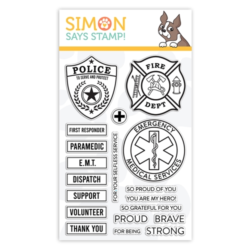 Simon Says Clear Stamps FIRST RESPONDERS sss102147 Crafty Hugs Preview Image