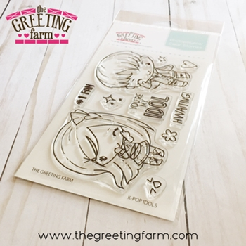 The Greeting Farm K-POP IDOLS Clear Stamps tgf551