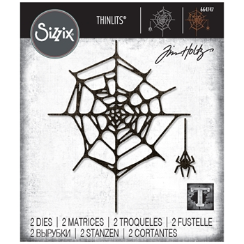 Tim Holtz Sizzix SPIDER WEB Thinlits Dies 664747