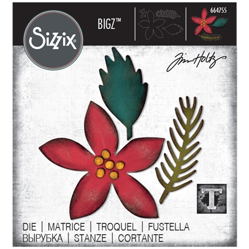 Tim Holtz Sizzix FESTIVITIES Bigz Die 664755 Preview Image