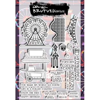 Brutus Monroe BOARDWALK Clear Stamps bru3887