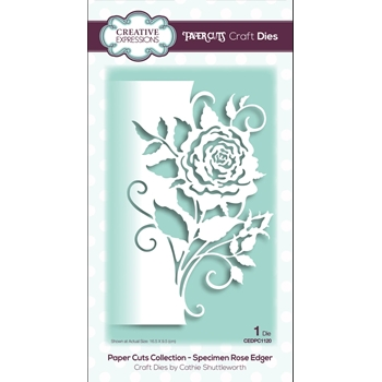 Creative Expressions ROSE EDGER EDGER Paper Cuts Collection Dies cedpc1120