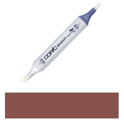 Copic Sketch Marker E18 COPPER Brown Preview Image