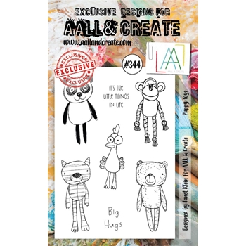 AALL & Create PUPPY TOYS A6 Clear Stamp Set aal00344
