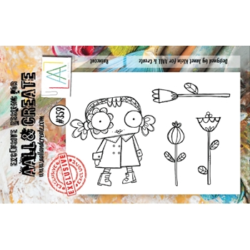 AALL & Create RAINCOAT A7 Clear Stamp Set aal00359