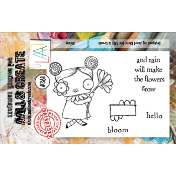 AALL & Create BLOOM A7 Clear Stamp Set aal00361