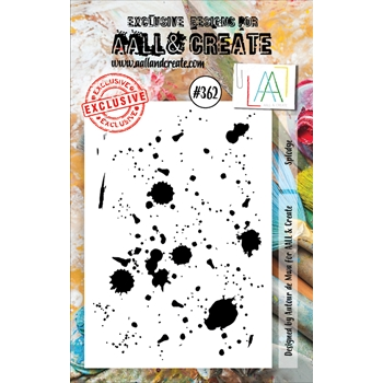 AALL & Create SPLODGE A7 Clear Stamp aal00362