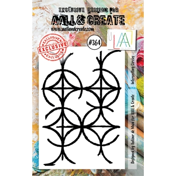 AALL & Create INTERSECTING CIRCLES A7 Clear Stamp aal00364