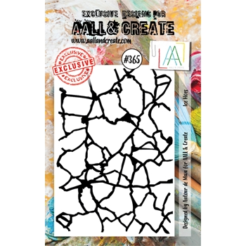 AALL & Create ICE FLOES A7 Clear Stamp aal00365