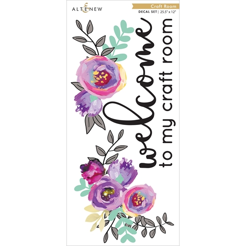 Altenew CRAFT ROOM DECAL ALT4227 Preview Image