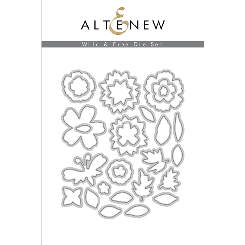 Altenew WILD AND FREE Dies ALT4217* Preview Image