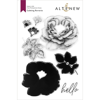 Altenew CALMING REVERIE Clear Stamps ALT4210