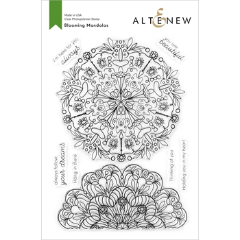 Altenew BLOOMING MANDALAS Clear Stamps ALT4207