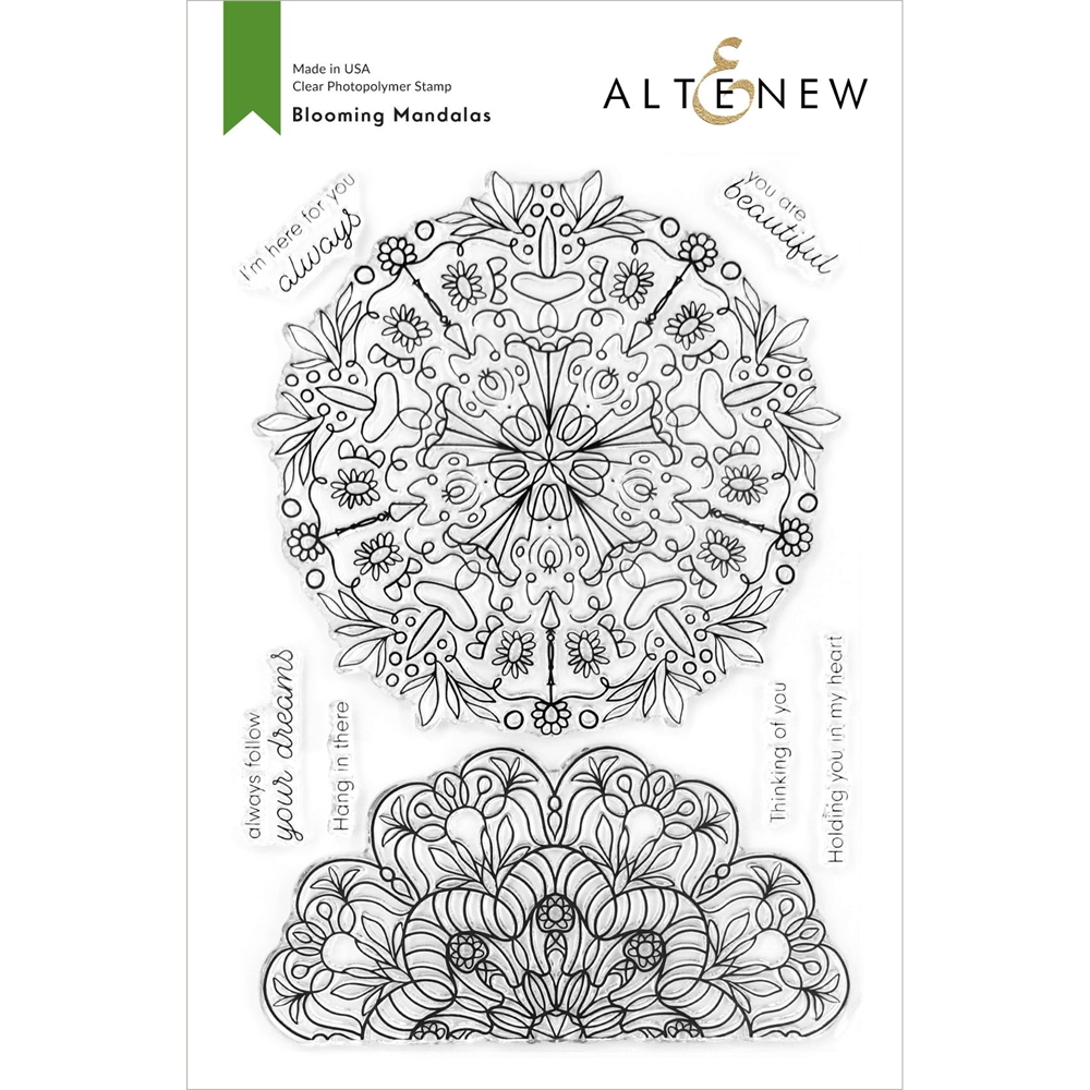 Altenew BLOOMING MANDALAS Clear Stamps ALT4207 zoom image