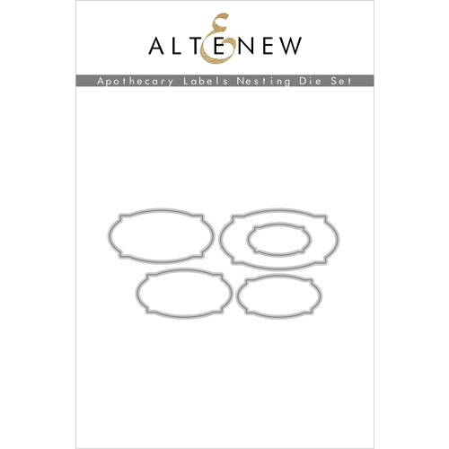 Altenew APOTHECARY LABELS Nesting Dies ALT4199 Preview Image