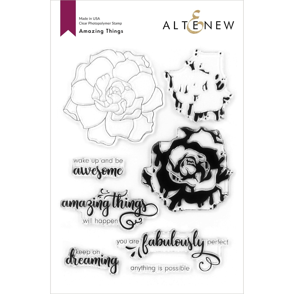 Altenew AMAZING THINGS Clear Stamps ALT4194 zoom image