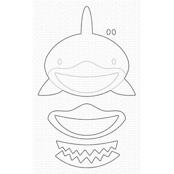 My Favorite Things BABY SHARK Dies Die-Namics mft1762