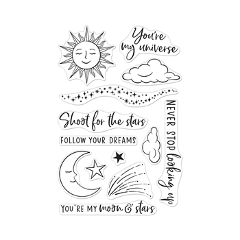 Hero Arts Clear Stamps YOU'RE MY UNIVERSE CM456