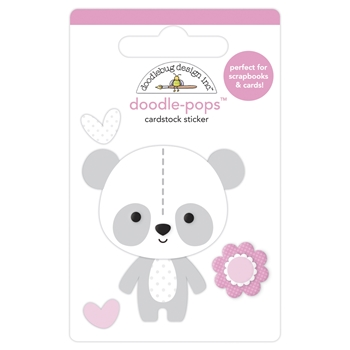 Doodlebug BEARY CUTE Doodle Pops 3D Stickers 6773*