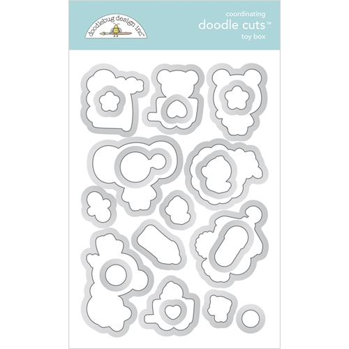 Doodlebug TOY BOX Coordinating Doodle Cuts Die Set 6798* Preview Image
