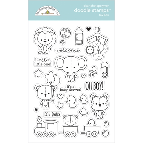 Doodlebug TOY BOX Doodle Clear Stamps 6797* Preview Image