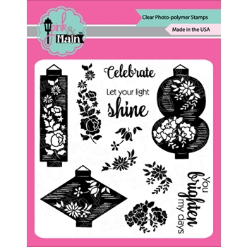 Pink and Main LANTERNS Clear Stamps PM0402