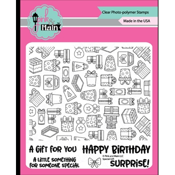 Pink and Main SPECIAL GIFT Clear Stamps PM0398