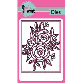 Pink and Main FANCY FLORAL Cover Die PNM272
