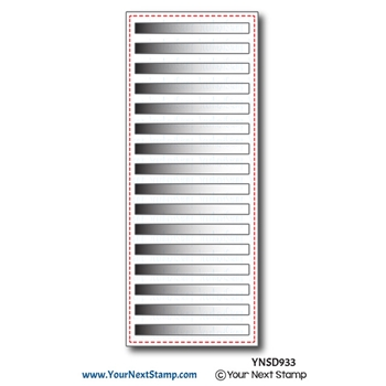 Your Next Die LONG STRIPE PANEL ynsd933