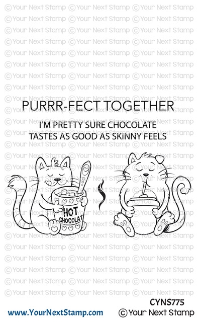 Your Next Stamp PURRRFECT TOGETHER Clear cyns775 zoom image