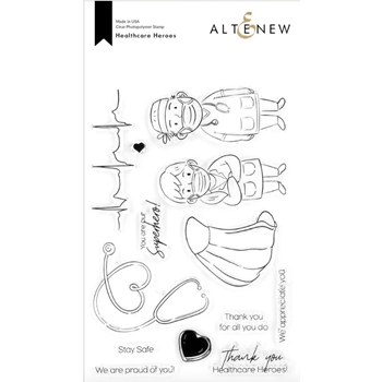 Altenew HEALTHCARE HEROES Clear Stamps ALT4301