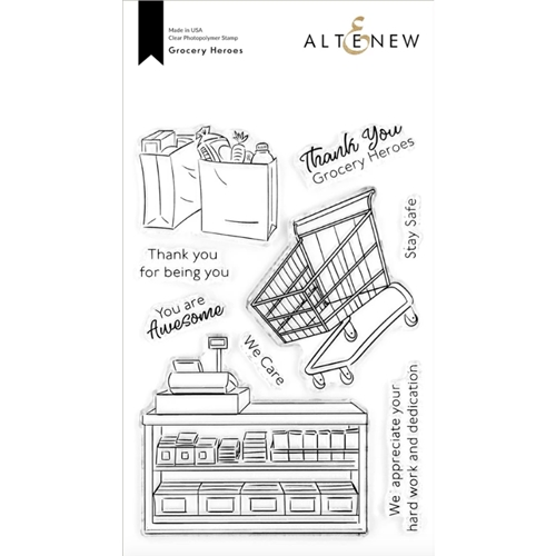 Altenew GROCERY HEROES Clear Stamps ALT4298 Preview Image