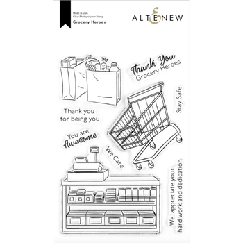Altenew GROCERY HEROES Clear Stamps ALT4298