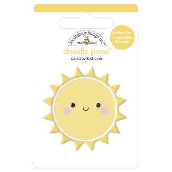 Doodlebug FUN IN THE SUN Doodle Pops 3D Sticker 6886